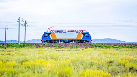 Alstom Prima M4 electric locomotive in Kazakhstan, source: Alstom