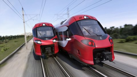 Alstom trains, source: Alstom