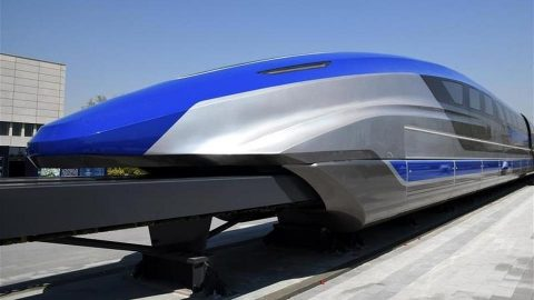 CRRC-built prototype of maglev train, source: CRRC