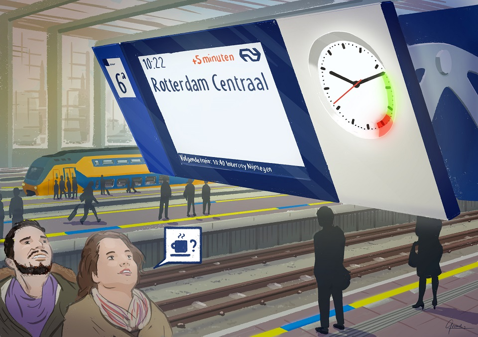 Intelligent Platform Clock, source: Conclusion ForeyeT
