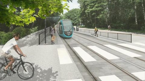 Jokeri Light Rail project, source: City of Espoo