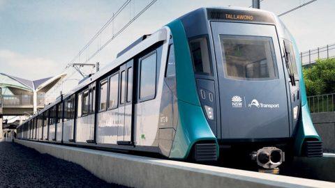 Metropolis train in Sydney Metro, source: Transport for NSW