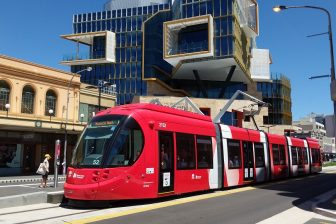 Newcastle Light Rail, source: Wikipedia