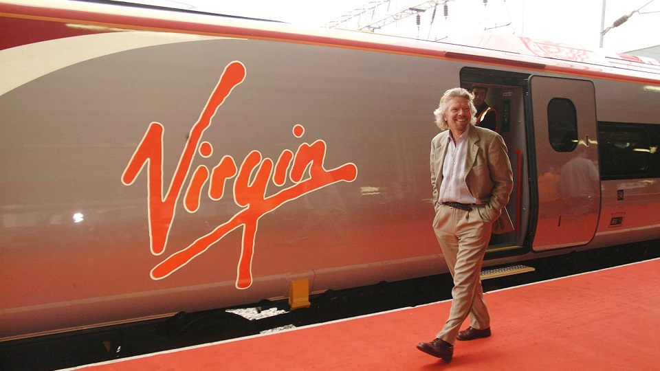 Richard Branson Virgin Trains, source: Virgin Trains