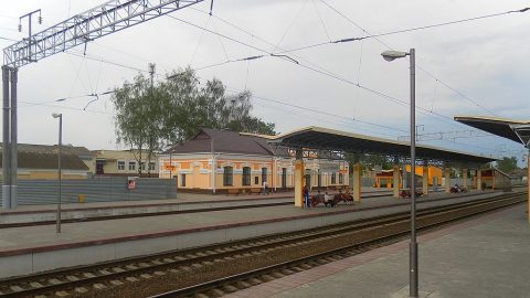 Rudensk railway station, source: Wikipedia