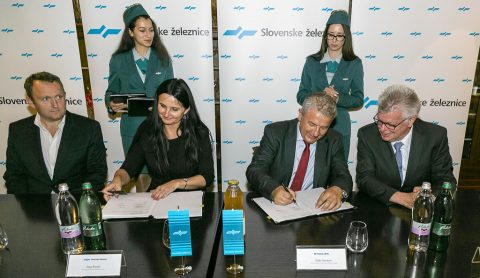 Slovesnke železnice signs agreement with Stadler, source: Slovesnke železnice