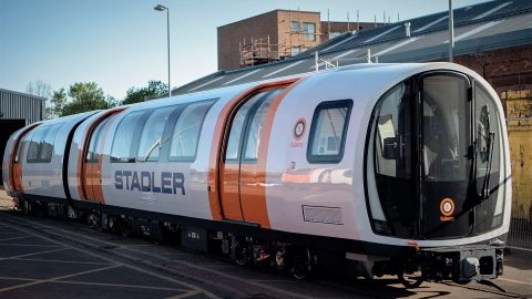 Stadler train for Glasgow Subway, source: Strathclyde Partnership for Transport (SPT)