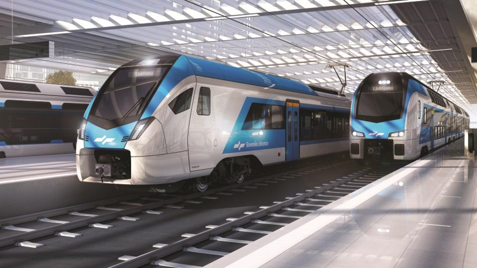 Stadler trains for Slovenske železnice, source: Slovenske železnice