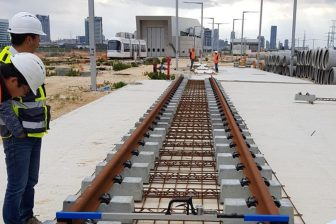 Tel Aviv Light Rail project, source: Vossloh Group
