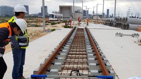 Tel Aviv Light Rail project, source: Vossloh Group