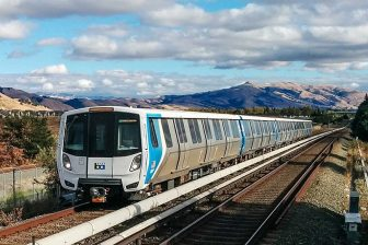 BART Fleet of the Future train, source: BART