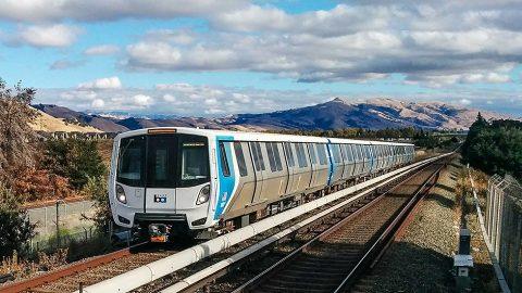 BART Fleet of the Future train, source: BART
