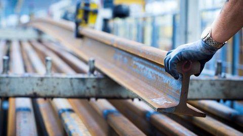 British Steel Rail Handling, source: British Rail