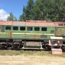 DM-62 diesel locomotive owned by Chernobyl Nuclear Power Plant, source: ProZorro.sales
