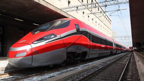 Frecciarossa 1000 high-speed train, source: Bombardier Transportation