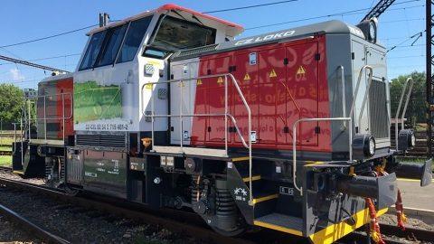 HybridShunter 400 locomotive, source: CZ Loko