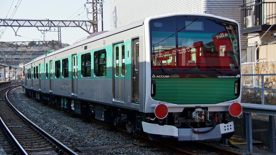 JR East EV-E301 battery-electric train, source: Wikipedia