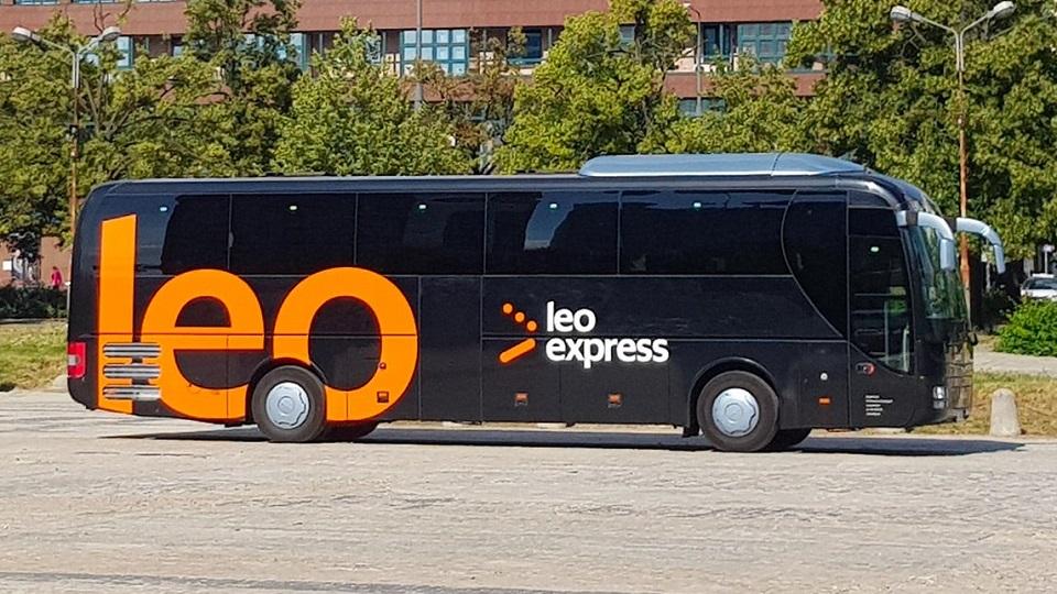 Leo Express bus, source: Leo Express