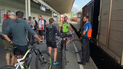 ÖBB cycling wagon, source: ÖBB