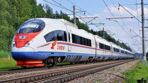 Siemens-made Sapsan high-speed train, source: Wikipedia