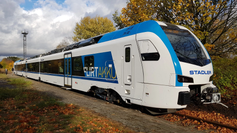 Stadler Akku battery-powered train, source: Stadler Rail