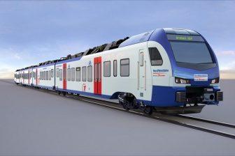 Stadler Flirt train for Bremen S-Bahn, source: Stadler Rail