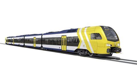 Stadler Flirt train for DART_Texas, source: Stadler Rail