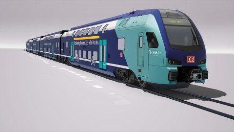 Stadler Kiss double-deck train for DB Regio, source: Stadler Rail