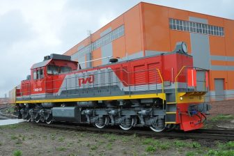 TEM28 shunting locomotive, source: Transmashholding