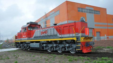 TEM28 shunting locomotive, source: Transmashholding
