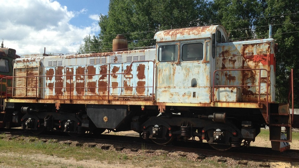 TGM4 shunting locomotive owned by Chernobyl Nuclear Power Plant, source: ProZorro.sales