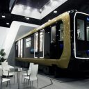 Transmashholding concept of new train for Saint Petersburg Metro, source: Transmashholding