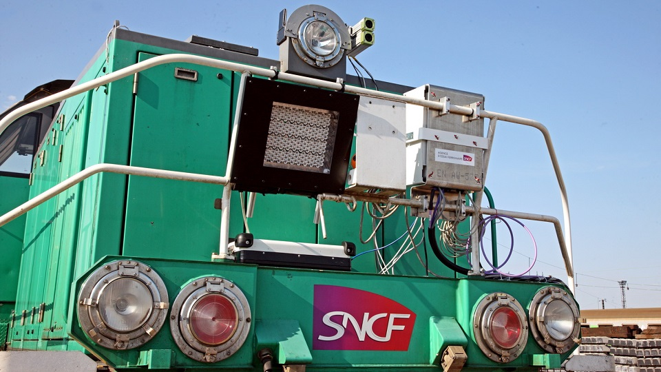 SNCF tests its first autonomous train | RailTech com