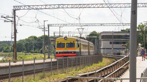 Elecrtrified railway in Latvia, source: Latvijas dzelzceļš