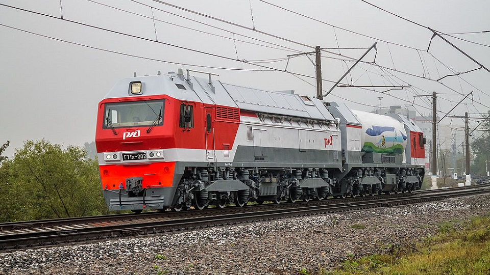 GT1h LNG-powered locomotive, source: Wikipedia