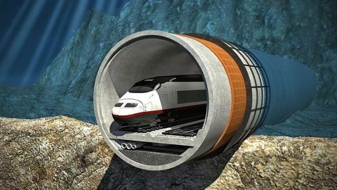 Helsinki - Tallinn Tunnel project, source: Finest Bay Area Development company