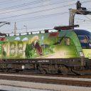 ÖBB green locomotive, source: ÖBB