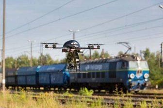 PKP Cargo uses drones, source: PKP Cargo