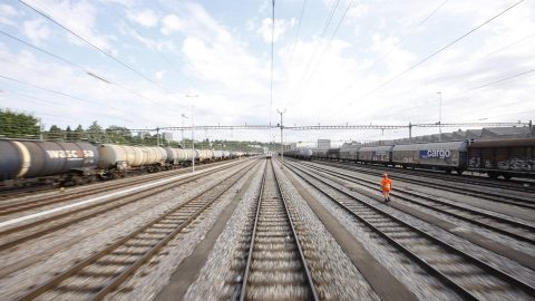 Railway tracks in Switzerland, source: SBB