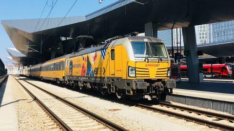 RegioJet train, source: RegioJet