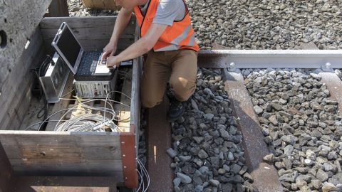 SBB measures temperature of tracks, source: SBB