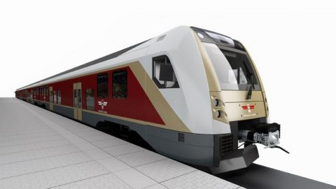 Škoda train for Latvia, source: Škoda Transportation