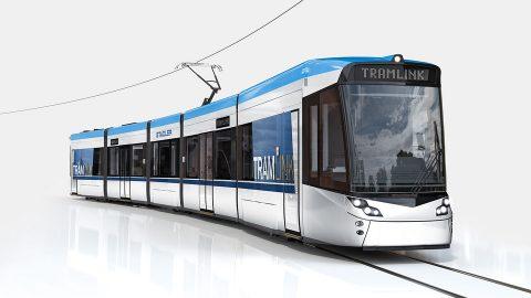 Stadler Tramlink tram, source: Stadler Rail