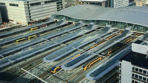 Utrecht Centraal station, source: Nederlandse Spoorwegen (NS)