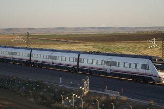 Valladolid - Leon high-speed railway, source: Wikipedia