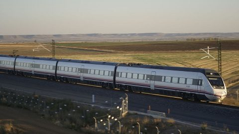 Valladolid - Leon high-speed railway, source: Wikipedia