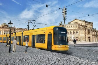 Bombardier Flexity tram for Dresden, source: Bombardier Transportation