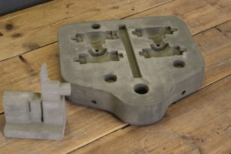 Castab sand molds for 3D printing, source: RailTech