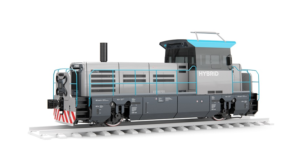 First Russian hybrid locomotive, source: Transmashholding