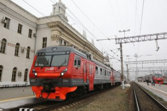 Krasnodar railway station in Russia, source: Russian Railways (RZD)